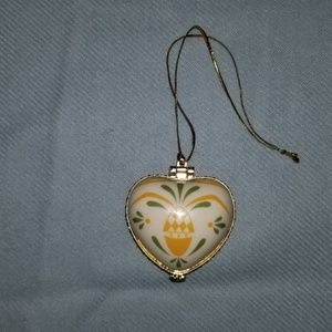 Heart Shaped Trinket/Box Ornament